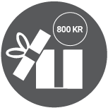 800 kr